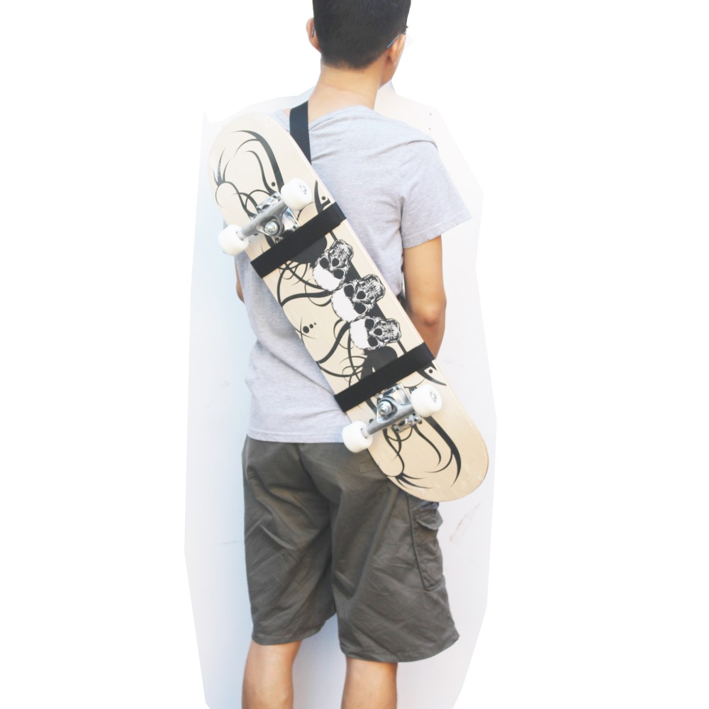 One Skateboard Shouder Strap Skateboard Carry Strap Shoulder Carrier NO BOARD