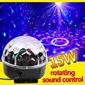 RGB Светодиодная лампа для сценических эффектов  кристалл  авто звук  магический шар  диско освещение  лазерный проектор  вечеринка  DJ club elf  ла...