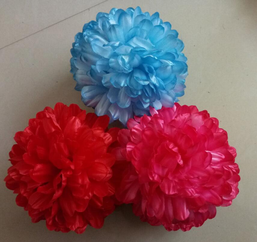 hijab volumizer flower clip khaleeji clip silk shabasa 6 colors flower khaleeji 15cm hair flower 15pcs/lot