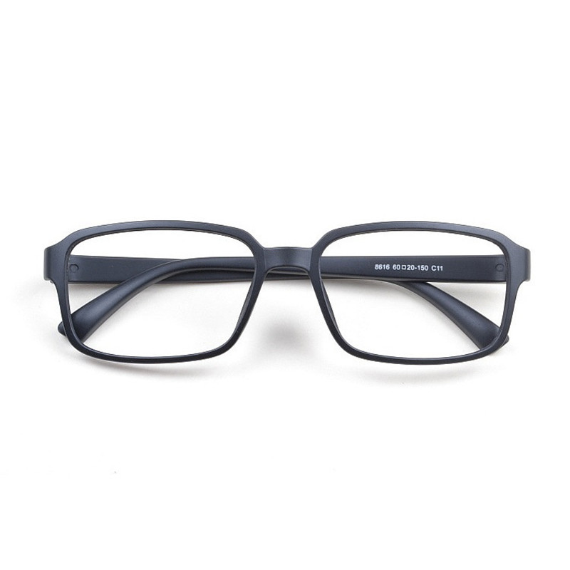 5513786b52e Cubojue (7g) TR90 Men s Glasses Oversized 158mm Large Black Eyeglasses  Frame for Male Myopia diopter Optical Prescription Lens-in Eyewear Frames  from ...