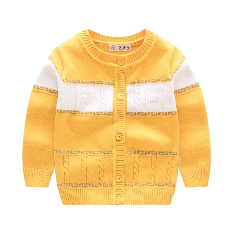 Frühling Baby Boy Strickjacke Baumwolle Langarm Junge Mädchen - Babykleidung