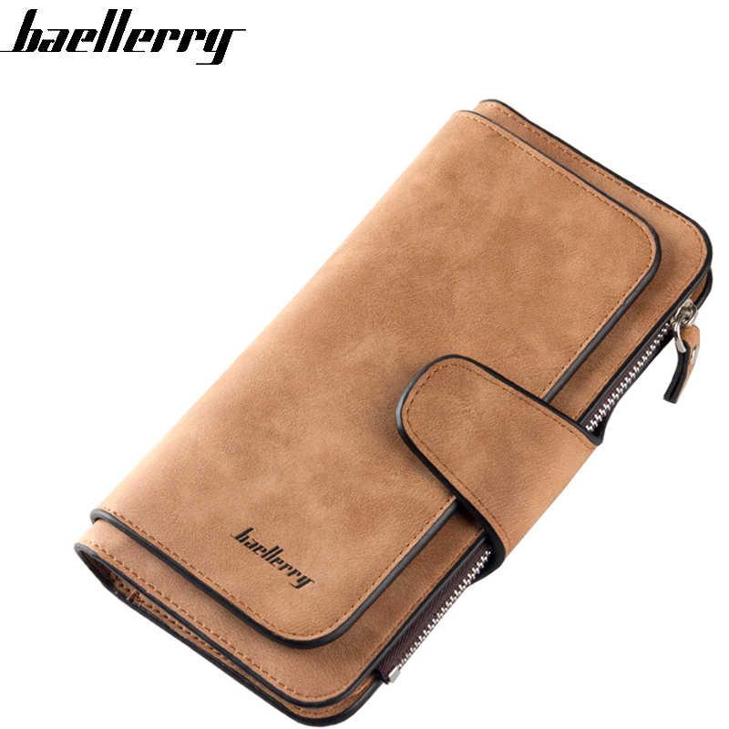 1a6027942e6c Baellerry Модные женские бумажник девушки кошелек карты деньги сумка  Кошельки студент высокого качества доллар цена на