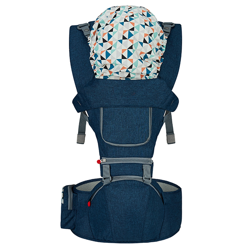 Top Baby Carrier Ergonomic Carrier Backpack Hipseat Sling Carrier Front Facing Ergonomic Kangaroo Baby Wrap Sling for Baby 0-36M (3)