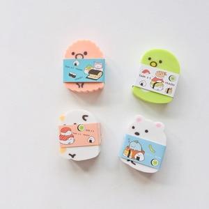 Image 3 - 24 pcs/lot Creatures Tuanzi Family Sumikko Gurashi Eraser Rubber Eraser Primary Student Prizes Promotional Gift Stationery