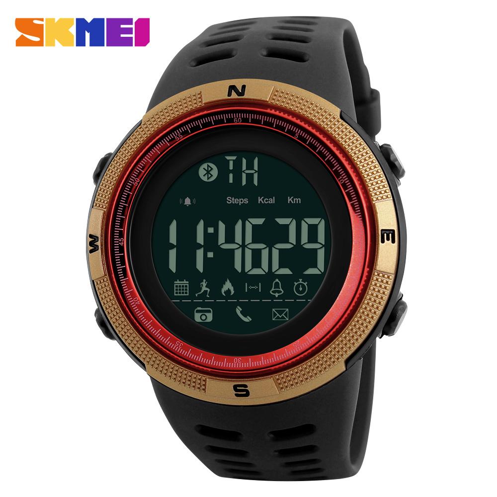 Prix pour Hommes Célèbre Montre Smart Watch Sport De Luxe de Marque Bluetooth Calories Podomètre De Mode Montres Hommes Étanche Numérique Horloge Montre-Bracelet