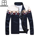 2016 Male Fashion Slim Casual Thin Jacket Contrast Shoulder Design Business Outerwear Man High Quality Autumn Jackets M-5XL M363