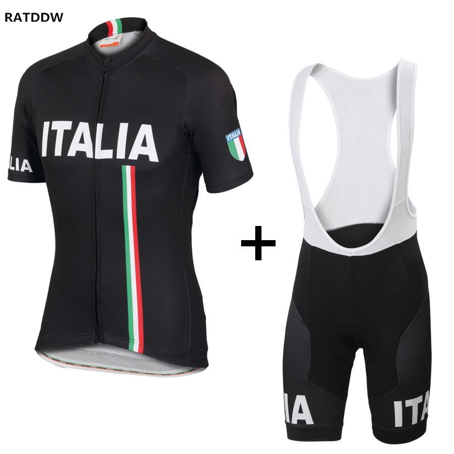 Prix pour 2017 Italie Pro Vélo Vélo Maillots Roupa Ciclismo Respirant Vélo Vélo de Course Vélo Vêtements Rapide-Sec Cycle Vêtements