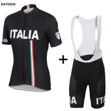 2017 Italy Pro Bike Cycling Jerseys Roupa Ciclismo Breathable Bike Racing Bicycle Cycling Clothing Quick-Dry Cycle Clothes