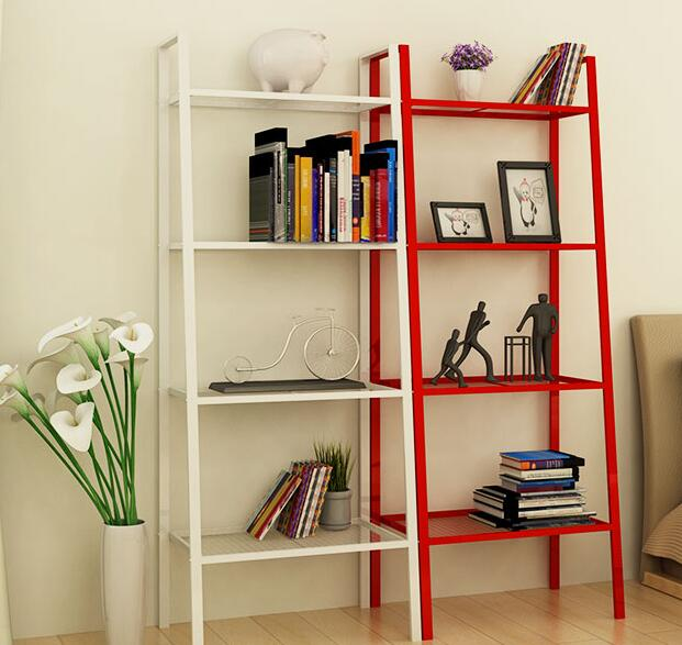 The shelves are placed on the shelves..084