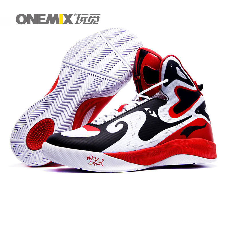 Aliexpress.com : Buy ONEMIX Brand Mens Basketball Shoes Top ...