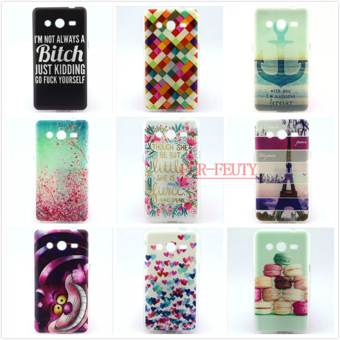 Silicone Case For Samsung Galaxy Core Core G Gh case For coque