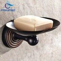 Trasporto libero di Promozione Bagno Olio di Bronzo Lucidato Soap Dish Holder Bagno Muro di Sapone Montato Dish Holder