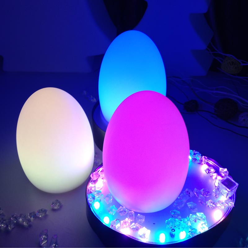 Remote Control RGB LED Egg Bar Table Lamp Dining Room Rechargeable  Decoration Light 16 Colors In One LED Lamp Christmas Gifts In Novelty  Lighting From ...
