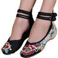 2015 Hot Sale Women's Shoes Old Peking Shoes Flat Heel with Embroidery Soft Sole Casual Shoes Dancing Shoes Size 35-40