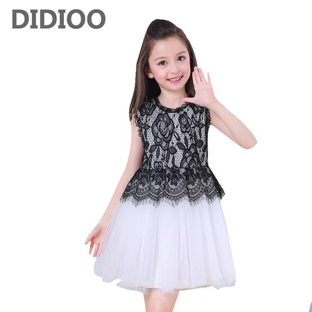 Vestidos de renda infantil