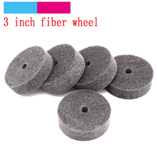 1pc 75mm Fiber Nylon Flap Polishing Buffing Grinding Wheel D