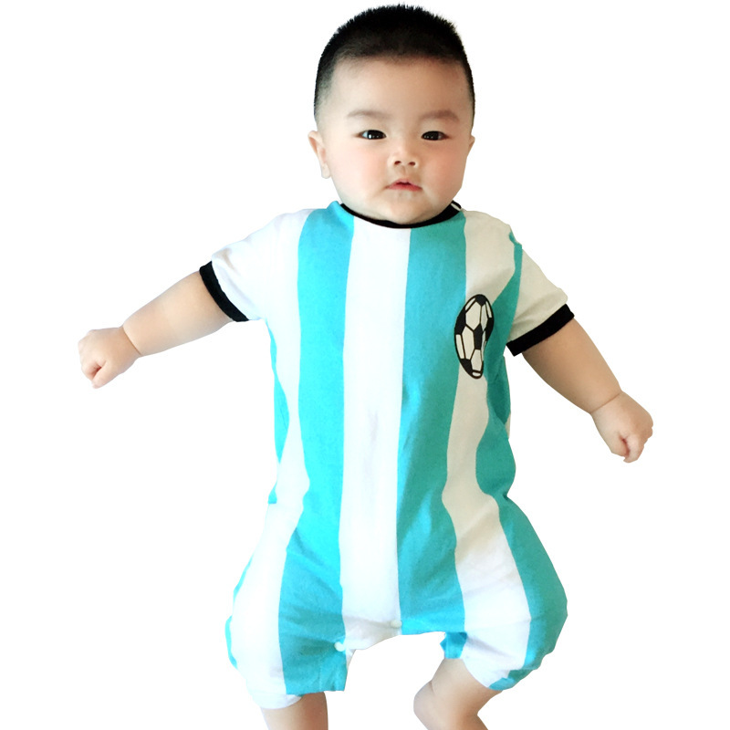 A1BY-5US Newborn Baby Boys Girls Cotton Long Sleeve Turkey Flag Symbol Jumpsuit Romper Funny Printed Romper Clothes