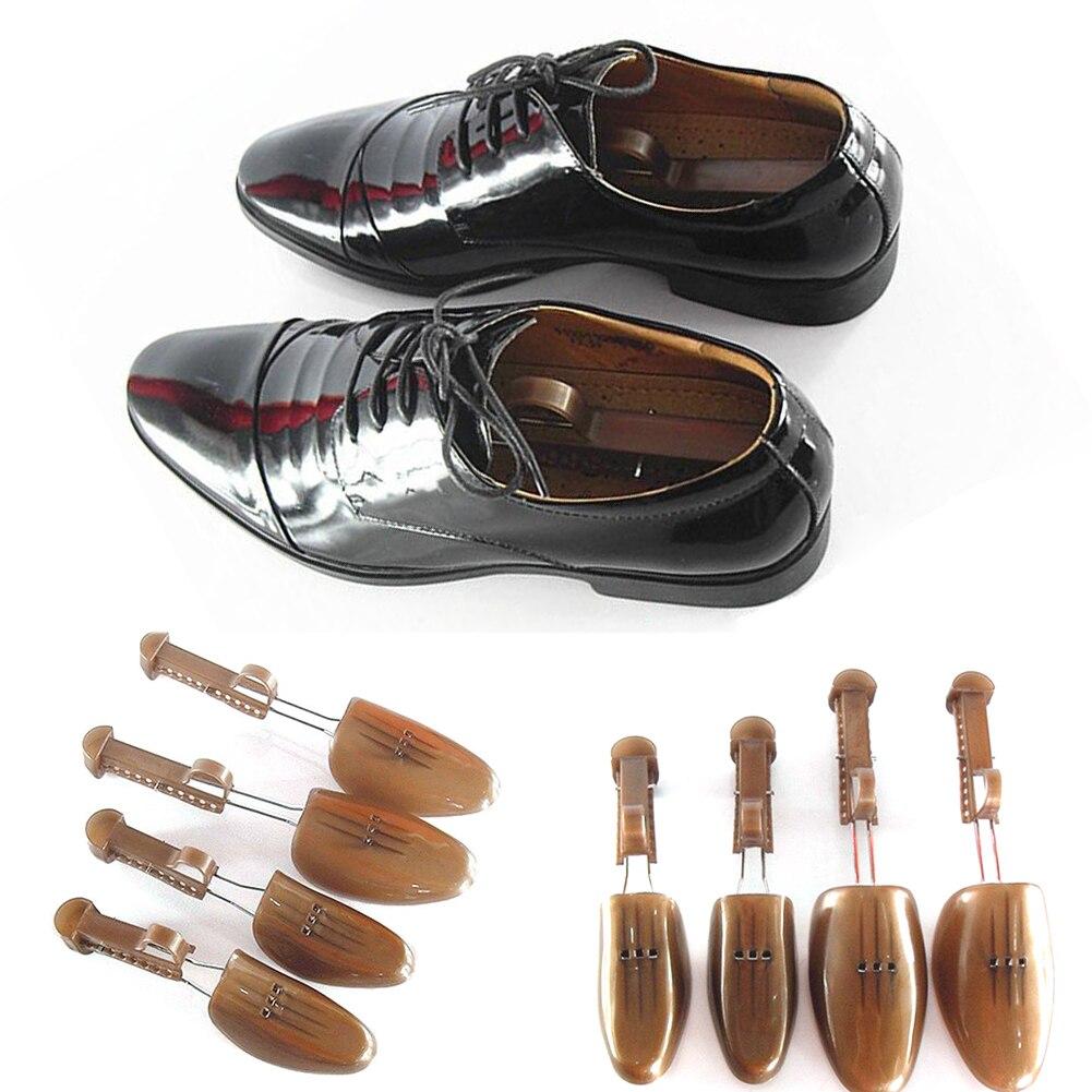 1Pair Plastic Adjustable Shoe Stretcher Boot Support Men Women Flats Pumps Boots Shoe Expander Shoe Tree Shaper High Quality