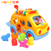 Educational Toy Toys Huile 988 Innovative Learning Electric Car Toys For Babies Toys Baby Free Shipping