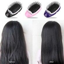 Антистатическая расческа для волос электрическая расческа для волос Ионная Щетка для волос портативные массажные расчески для гостиной стиль для женщин для девочек