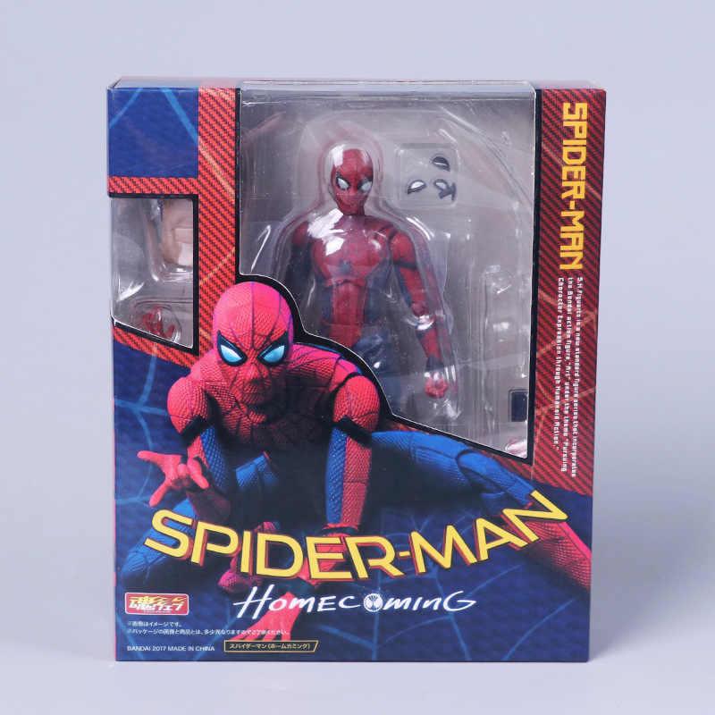14cm homem aranha regresso a casa o homem aranha estilo simples & herioc ação pvc figura de ação collectible modelo brinquedo spide-rman brinquedos