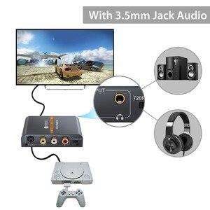 Image 3 - Neoteck Alloy 3RCA AV CVBS 컴포지트 S Video to HDMI 컨버터 AV S Video to HDMI 어댑터 (3.5mm 잭 오디오 포함)