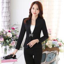 Formale Frauen Blazer und Jacken Weibliche Business Kleidung Damen Arbeit  Tragen Büro Uniform Styles f0299d24d2