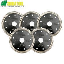 Купить с кэшбэком 5pks 115MM Diamond hot pressed diamond blades Superthin Turbo disc with 10mm segment height