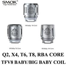 Electronic Cigarette Cores SMOK TFV8 BABY Coil Alien AL85 G150 Gx2/4 G320 Core G-priv  T Priv Stick V8 TFV8 Big BABY Coil S002