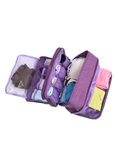 Portable Travel Underwear Storage Bag Large Capacity Multi-function Briefs Bras Packing Organizer