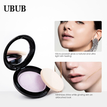 UBUB 4 Colors Face Bronzing Mineral Powder Make up Foundation Highlighter Beauty Matte Oil-control Pressed Powder