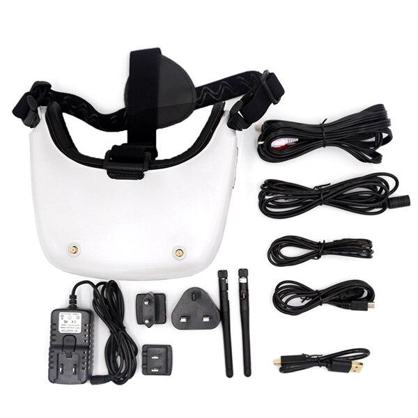 Newest 5.8G 40CH HD 3D FPV VR Video / Goggle Glasses SJ H01 / HDMI, AV input High Definition - 5