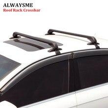ALWAYSME, 2 шт., универсальный, подходит для автомобиля, без оригинала, RoofRack, автомобиль, внедорожник, алюминиевый верх, багаж, багажник на крышу, поперечная планка с противоугонным замком