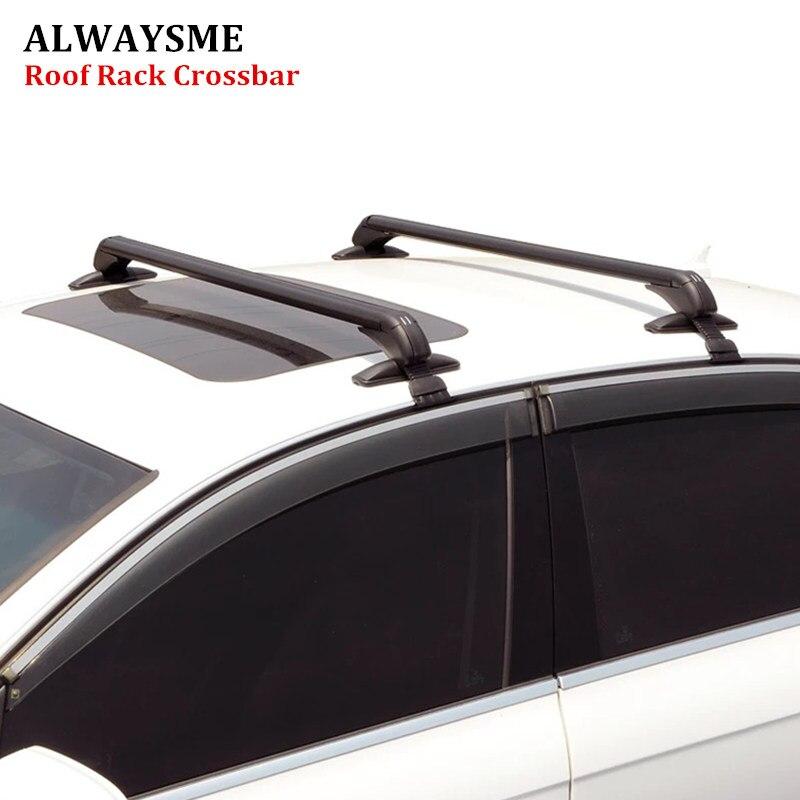 Универсальные перекладины ALWAYSME, багажные стойки для седанов, MPV, грузовиков