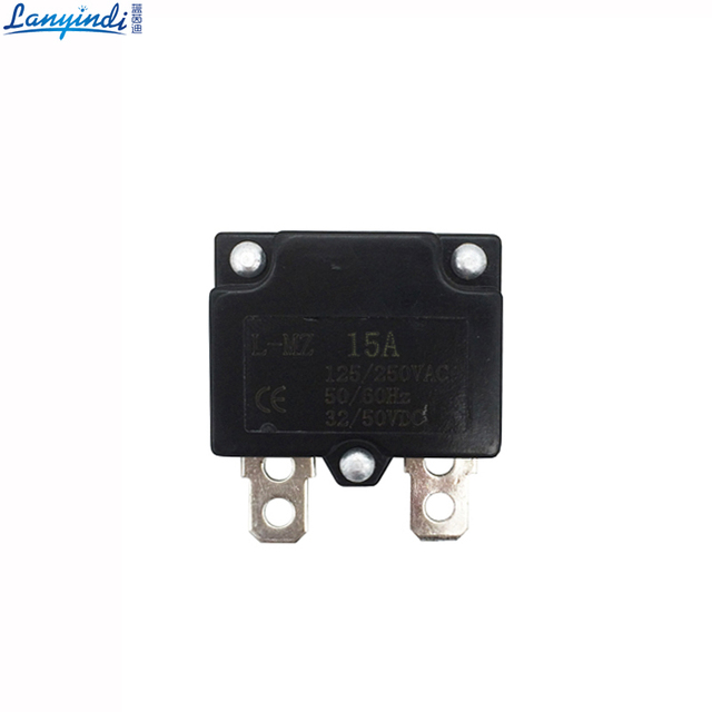 DIY 7A 10A 15A Automatic Reset Relay Fuse Therma Switch Circuit