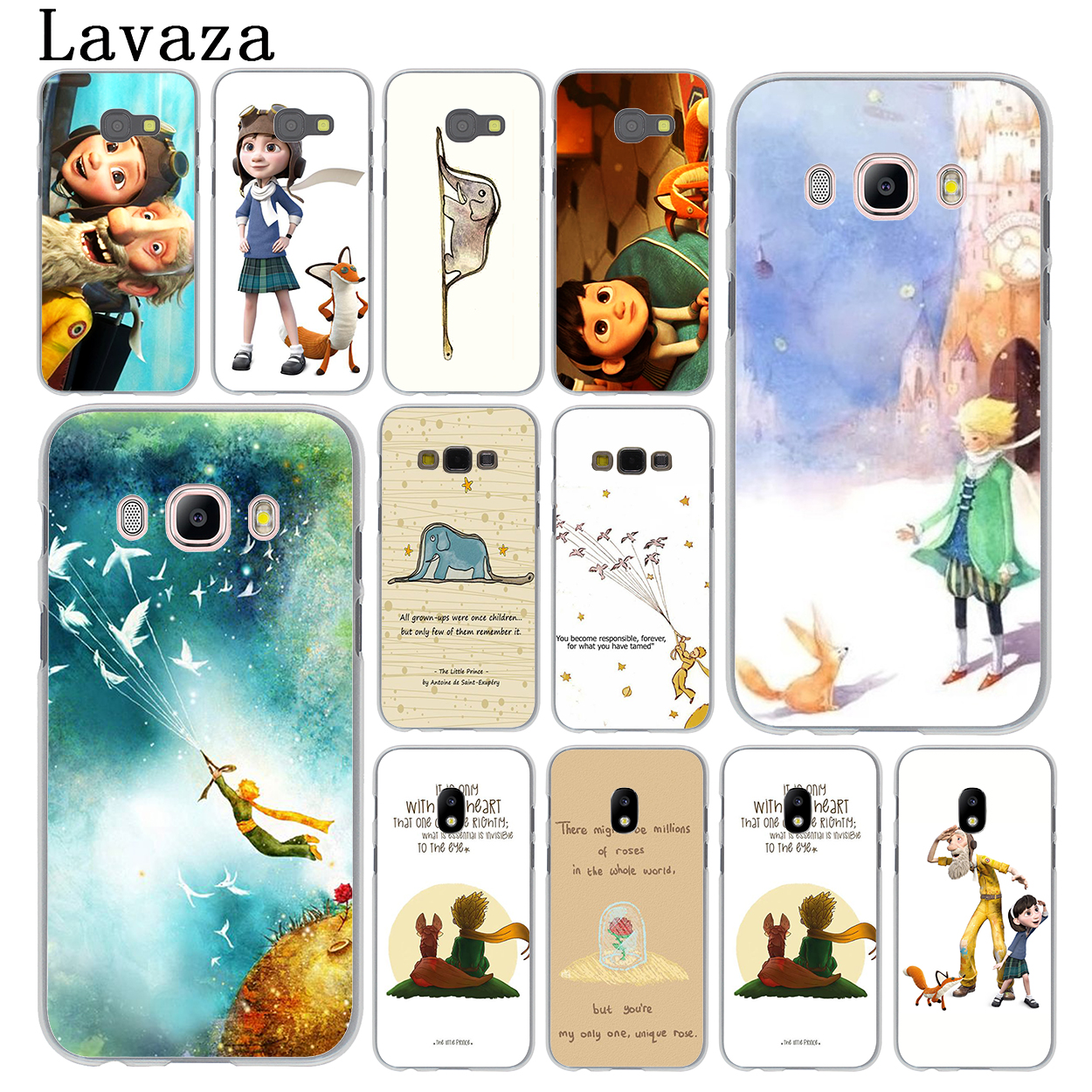 Lavaza The little prince and the fox Phone Cover Case for Samsung Galaxy J3 J1 J7 J5 2015 2016 2017 J2 Pro Ace J5 J7 Prime Cases