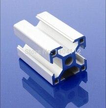 Серебристый Алюминиевый Профиль Алюминиевый Профиль 3030 30*30 для Haribo Издание MK2 3d-принтер prusa I3