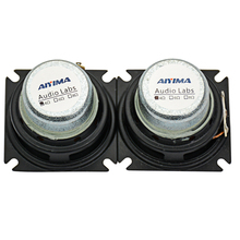 2Pcs Audio Speakers 1.75Inch Full Range Speaker