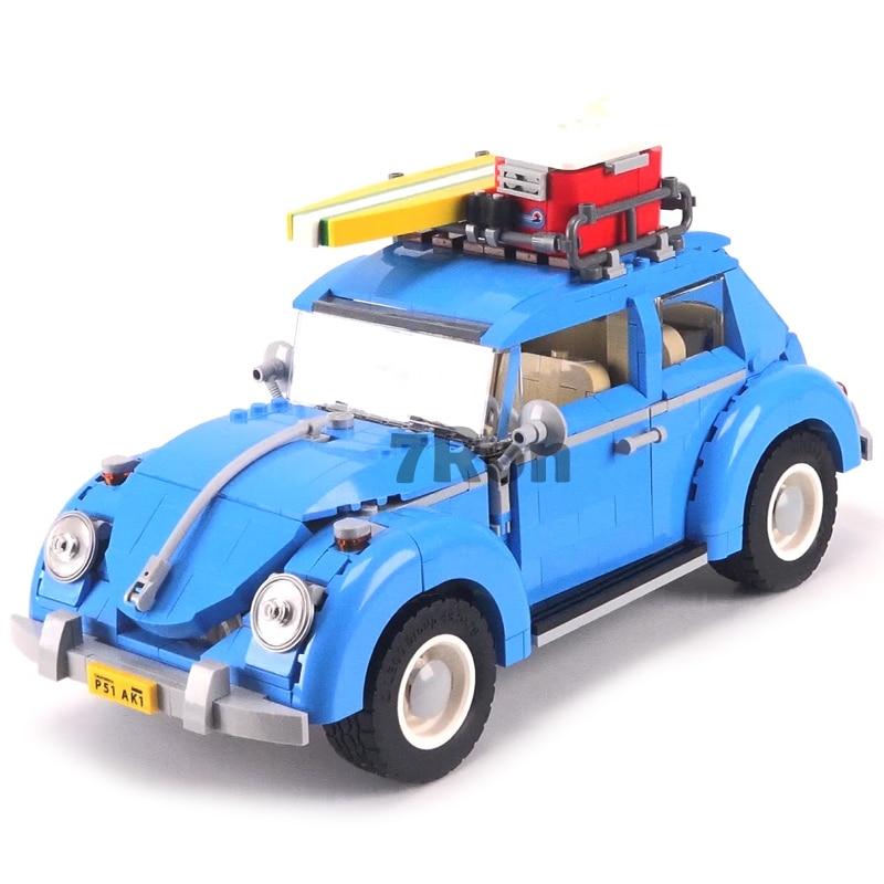 Yle 003 Beetle Ville Voiture Modã ¨ Le L'éducation Blocs de Construction Brique D'anniversaire Cadeaux Jouet Pour Enfant compatible avec Lego Techinc 10252