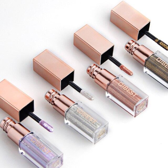 1 PC 15 líquido de Color brillo lápiz de sombra de ojos de impermeable de larga duración de sombra de ojos de maquillaje de Ojos de Accessorices