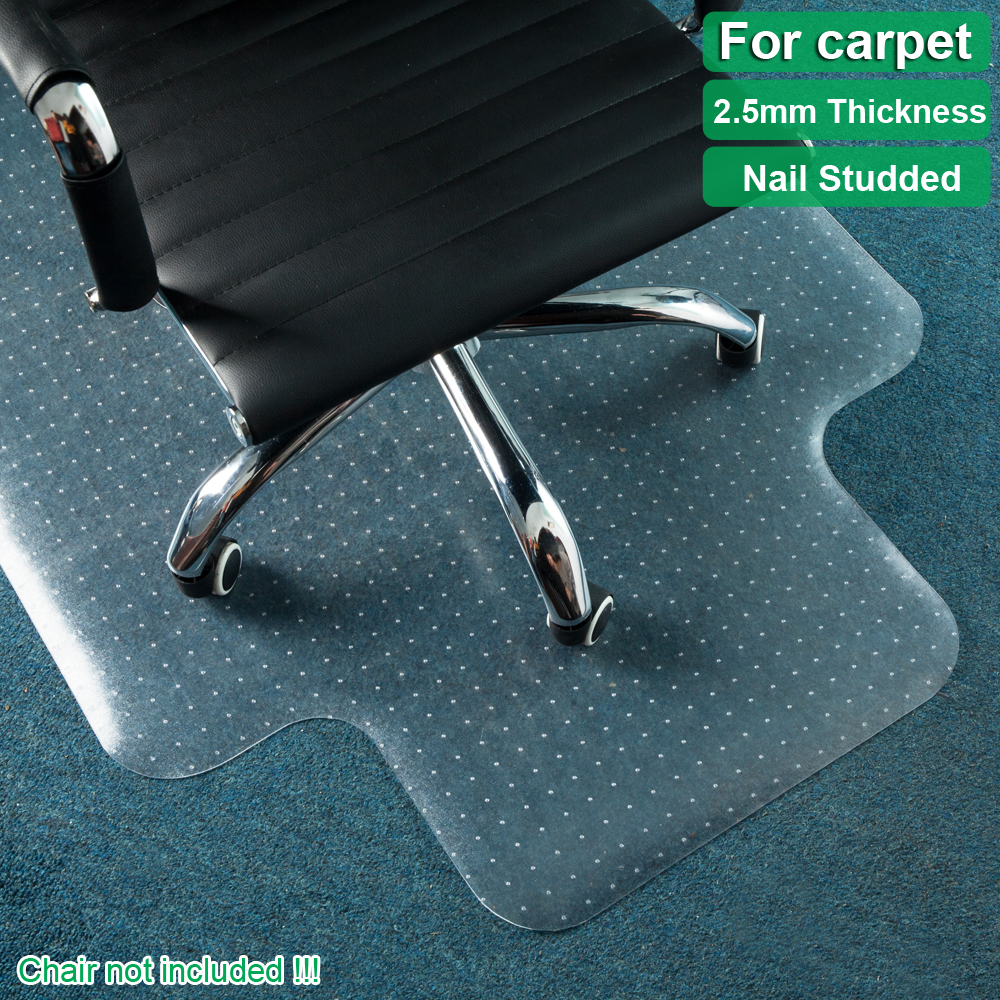 Thick PVC Home-use Protective Mat Office Pad for Floor Carpet Chair Transparent