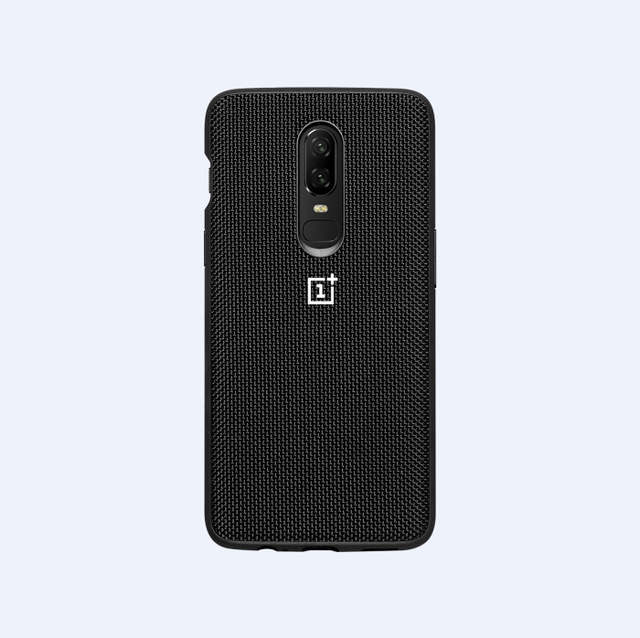 outlet store 9f5f9 aa265 US $11.99 |100% original OnePlus 6 / 5 Sandstone Silicon Nylon Karbon  Bumper Case For One plus 6 / 5-in Half-wrapped Cases from Cellphones & ...