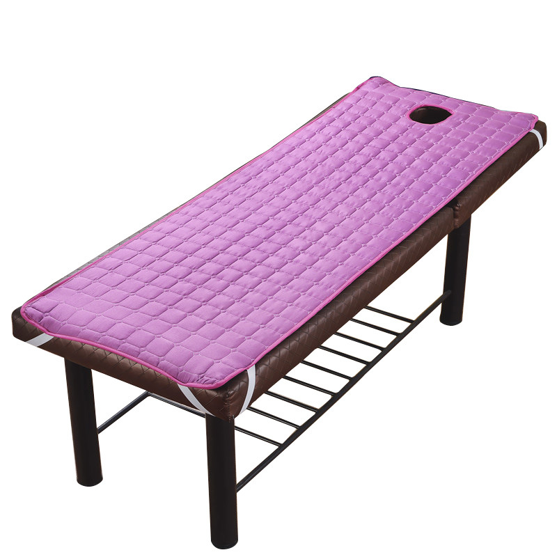 DEOVO Massage Table Sheet SPA Beauty Bed With Holes Body Care Non-slip Mattress Thick Beauty Salon Bed Sheets
