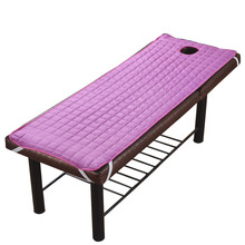DEOVO Massage Table Sheet SPA Beauty Bed With Holes Body Care Non-slip Mattress Thick Beauty Salon Bed Sheets цена 2017
