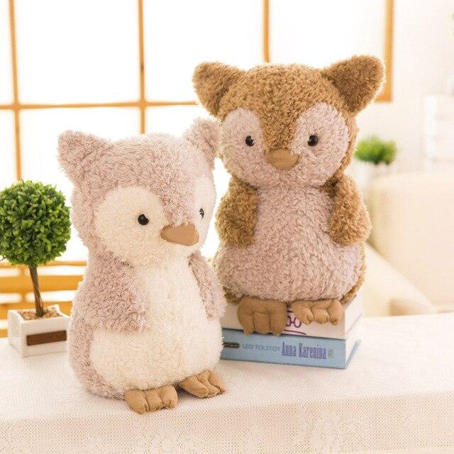 Owl Toy Plush Toys For Children Stuffed Animal Owl Toy Big Eyes Soft