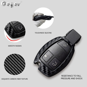 Image 3 - Ceyes Car Styling Auto Carbon Fiber Shell Covers Case For Mercedes Benz Cla CLS R350 C200 C180 E260L S320 GLK300 C S Accessories