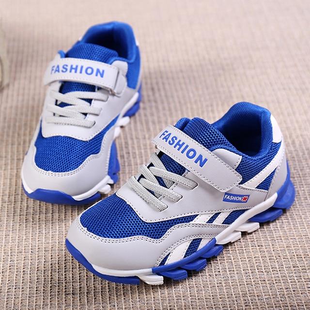 SKHEK חדש בני רשת נעלי ילדי ספורט נעלי ספורט ילדה ילדים לנשימה תלמיד מזדמן נעלי אופנה סתיו נעליים