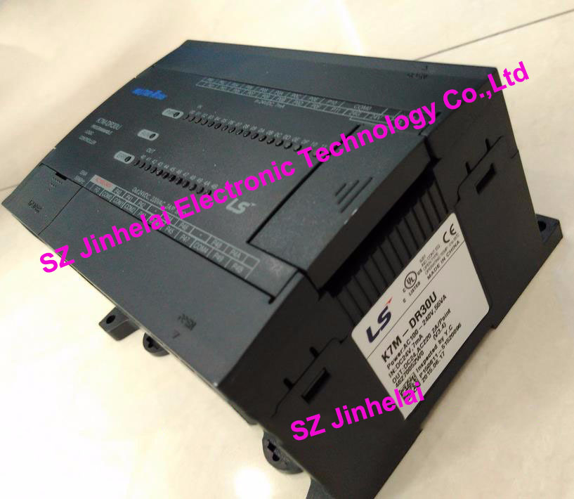 100% New and original  K7M-DR30U  LS(LG)  plc controller 100% new and original g6i d22a ls lg plc input module