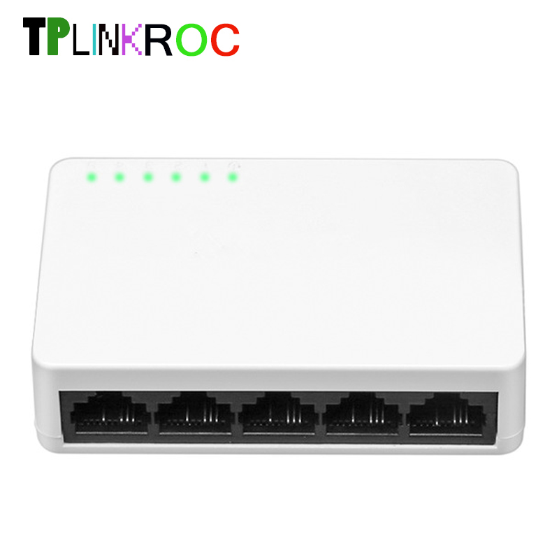 Mini 5 Port 10/100Mbps Desktop Switch/Fast Ethernet Network Switch LAN Hub/Full or Half duplex Exchange,EU/US Plug eu plug 8 rj45 port 10 100mbps ethernet network switch hub desktop mini fast lan switcher adapter