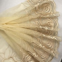 9 style Delicate embroidery cotton mesh lace DIY decorative